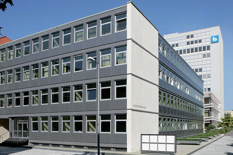 Bürohaus Augustaanlage 62-64 Mannheim FAY Projects GmbH