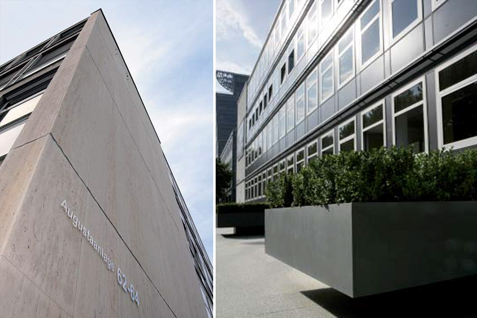 Bürohaus Augustaanlage 62-64 Mannheim FAY Projects GmbH