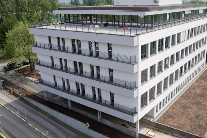 Büro und Technikum Tiergartenstraße, Heidelberg