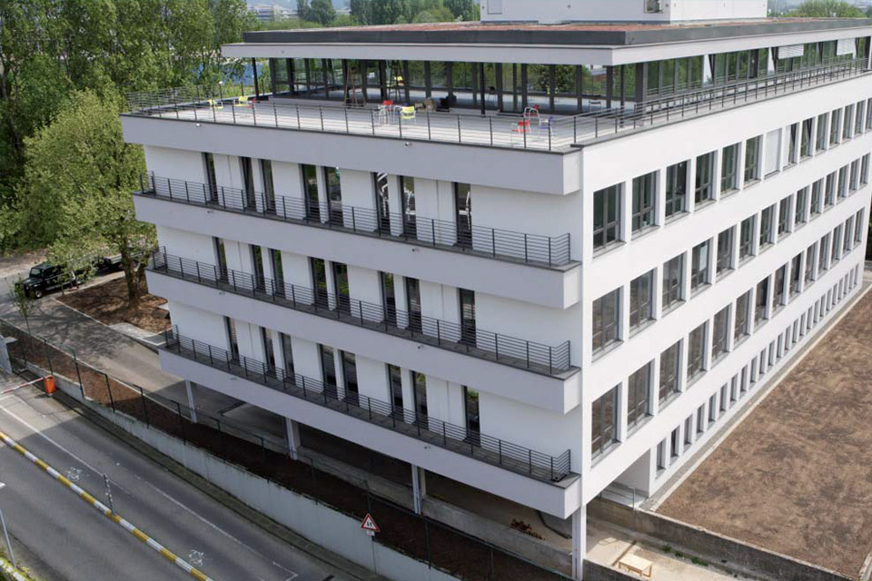 Büro und Technikum Tiergartenstraße Heidelberg FAY Projects GmbH