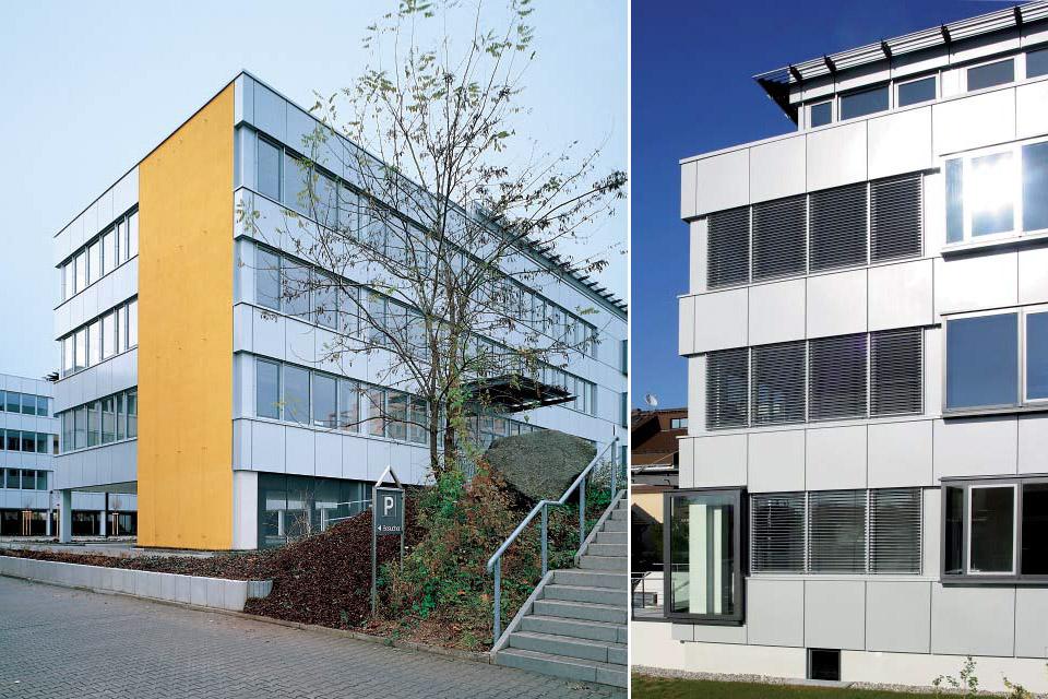 Bürogebäude Perfect Houses Heidelberg FAY Projects GmbH