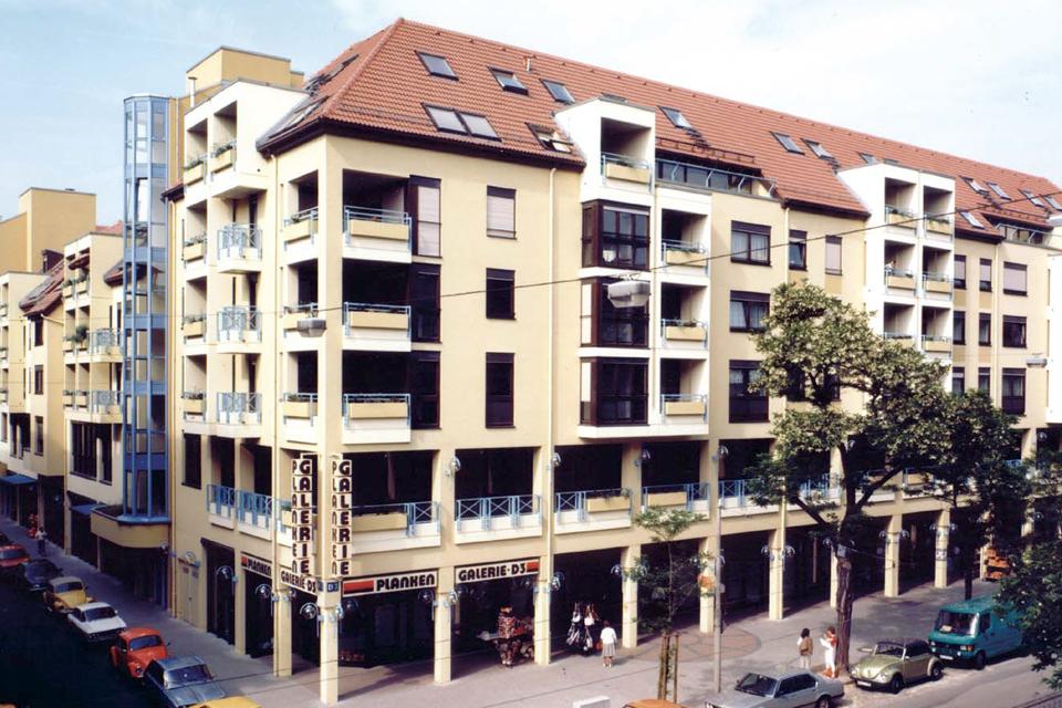Wohn- und Geschäftshaus D3 Mannheim FAY Projects GmbH
