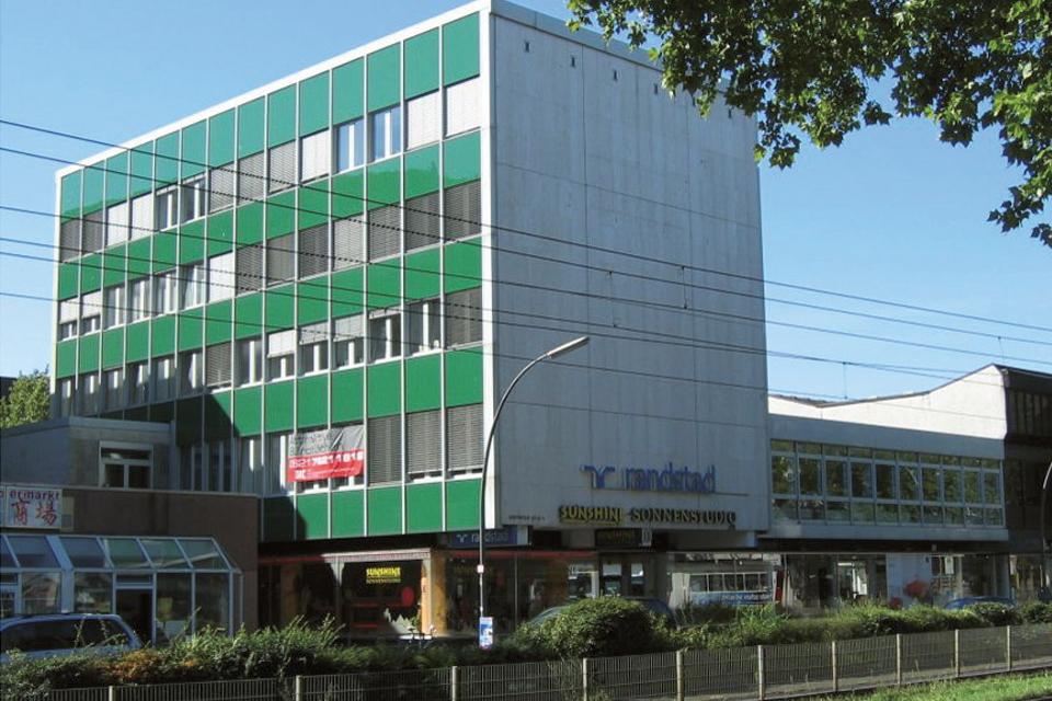 Büro- und Geschäftshaus Kurfürstenanlage Heidelberg FAY Projects GmbH