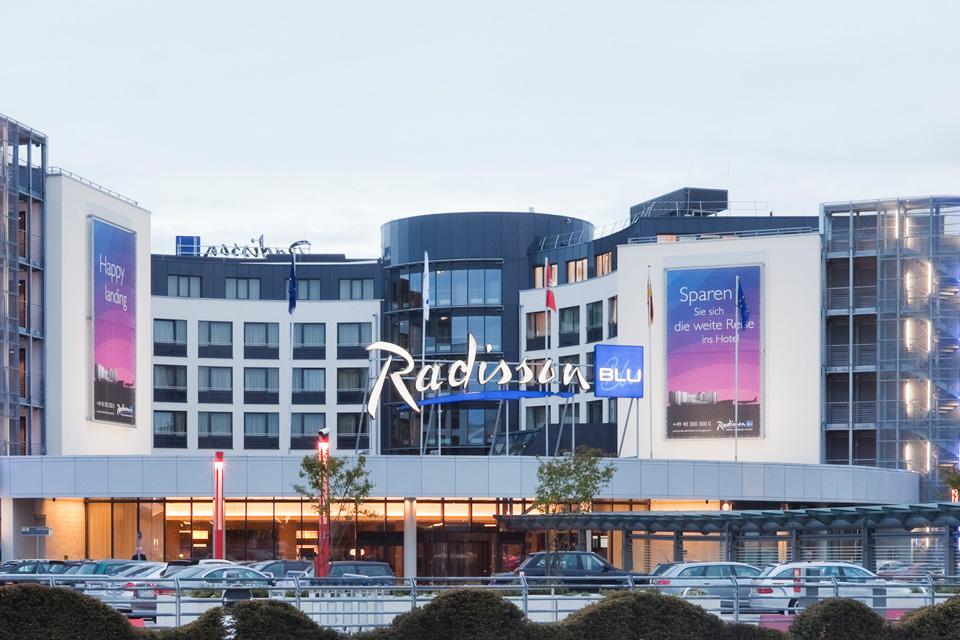 Radison Blue Hotel, Hamburg