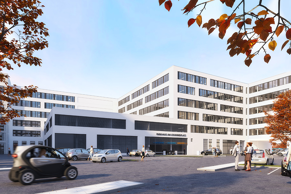 Büro- und Geschäftshaus mit Hotel Chemnitz Chemnitz FAY Projects GmbH